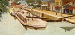 Erie Canal, Lyons, NY